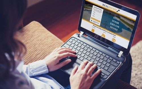 Real estate website design NJ
